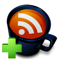 Mug RSS Add by Fast Icon
